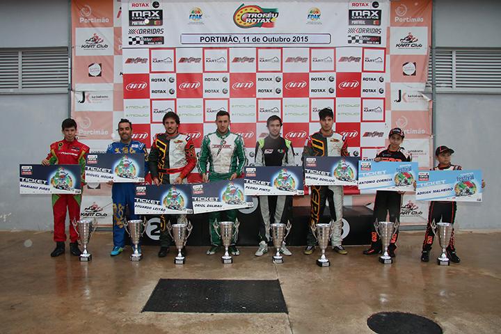 Campeões Rotax e qualificados para as Finais Mundiais conhecidos em Portimão