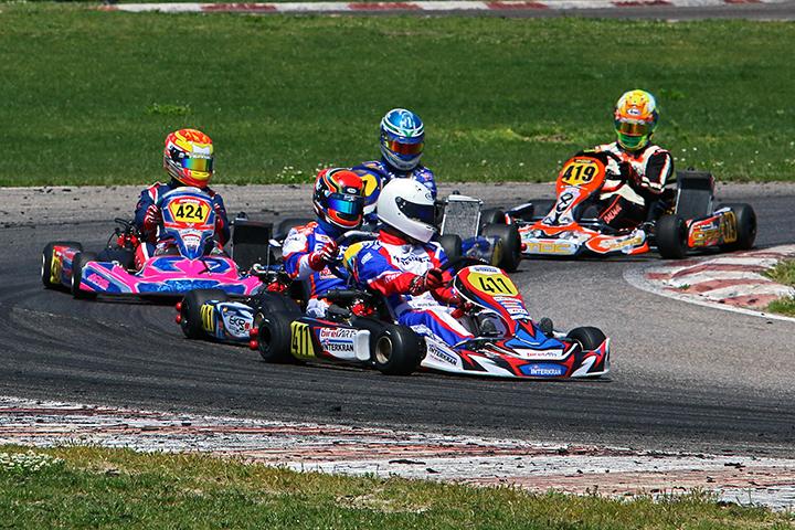 Bruno Borlido 5º e Mariano Pires 6º nas Series Rotax Espanha da categoria DD2