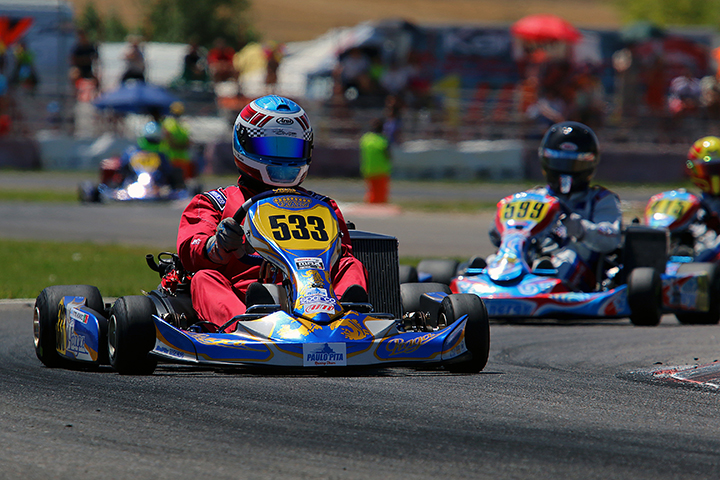 Vítor Mendes a um lugar do pódio na categoria DD2 Master das Series Rotax