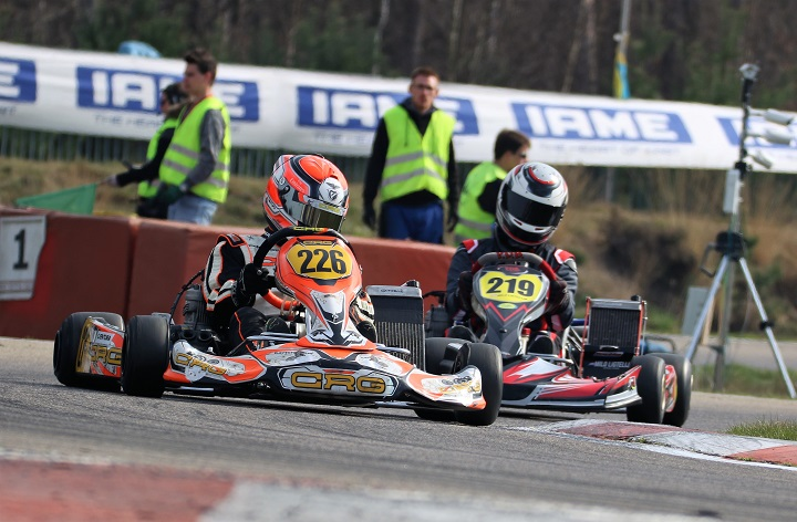 Furo trava Simão Ventura na Pré-Final da 1ª prova do Europeu de Karting em Genk