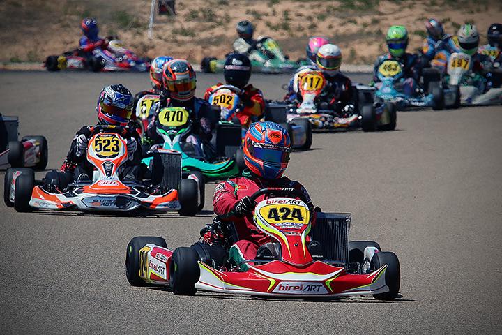 Portugueses em bom plano nas categorias Max e DD2 das Series Rotax em Espanha
