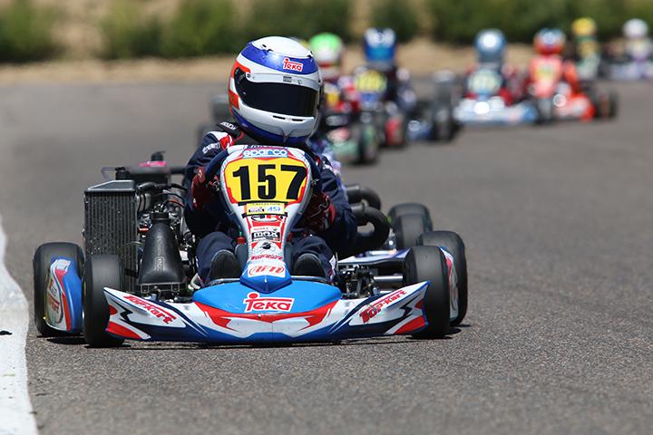 Frederico Peters garante positivo 8º lugar na categoria Mini das Series Rotax em Zuera