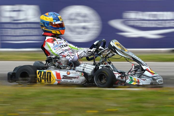Yohan Sousa em Le Mans para disputar o Campeonato do Mundo da categoria KZ2
