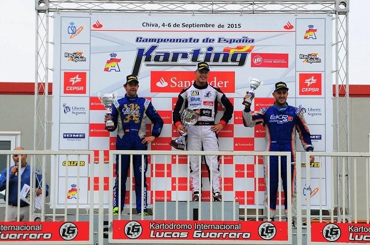 Henrique Chaves vence na categoria Sénior-KZ2 do Campeonato de Espanha em Chiva