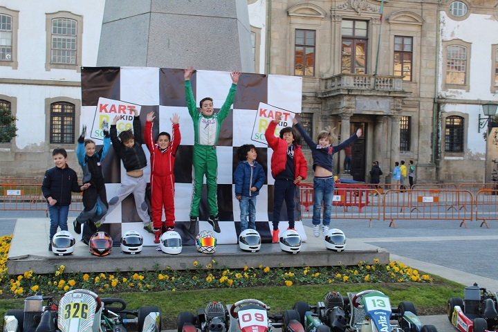 Kart Kid Race School levou o Karting ao centro histórico de Braga
