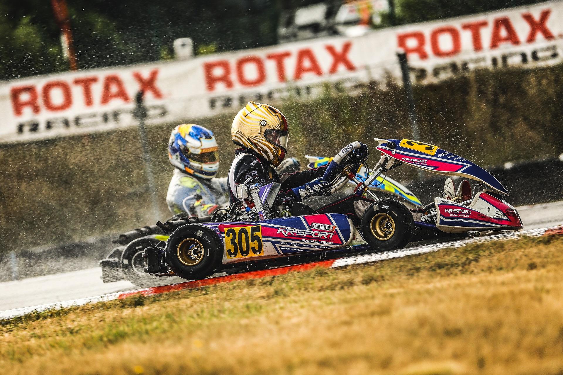 Guilherme de Oliveira 11.ª classificado na 1.ª prova do Europeu Rotax em Genk