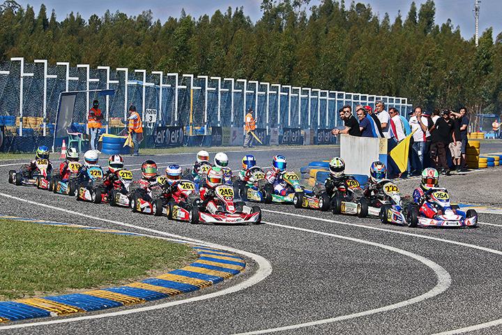 Novos vencedores no Kartódromo de Leiria para o Campeonato Nacional de Karting