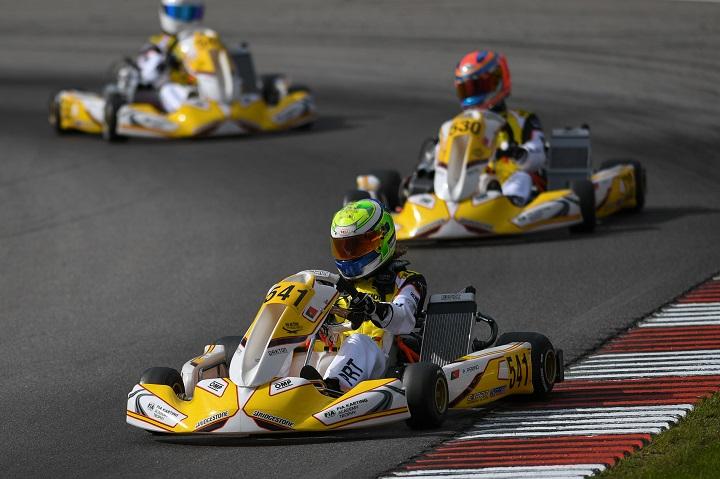 Pedro Perino batizado na Alemanha para o FIA Karting Academy Trophy 2019