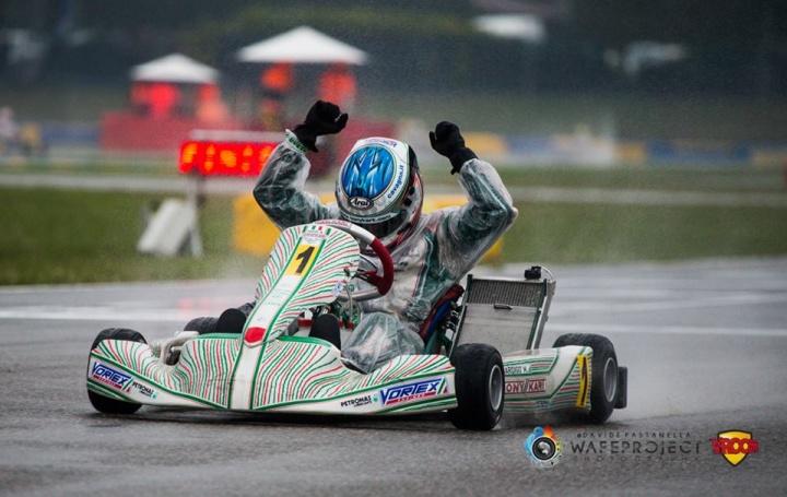 WSK Super Masters: Marco Ardigò reforça liderança na categoria KZ2