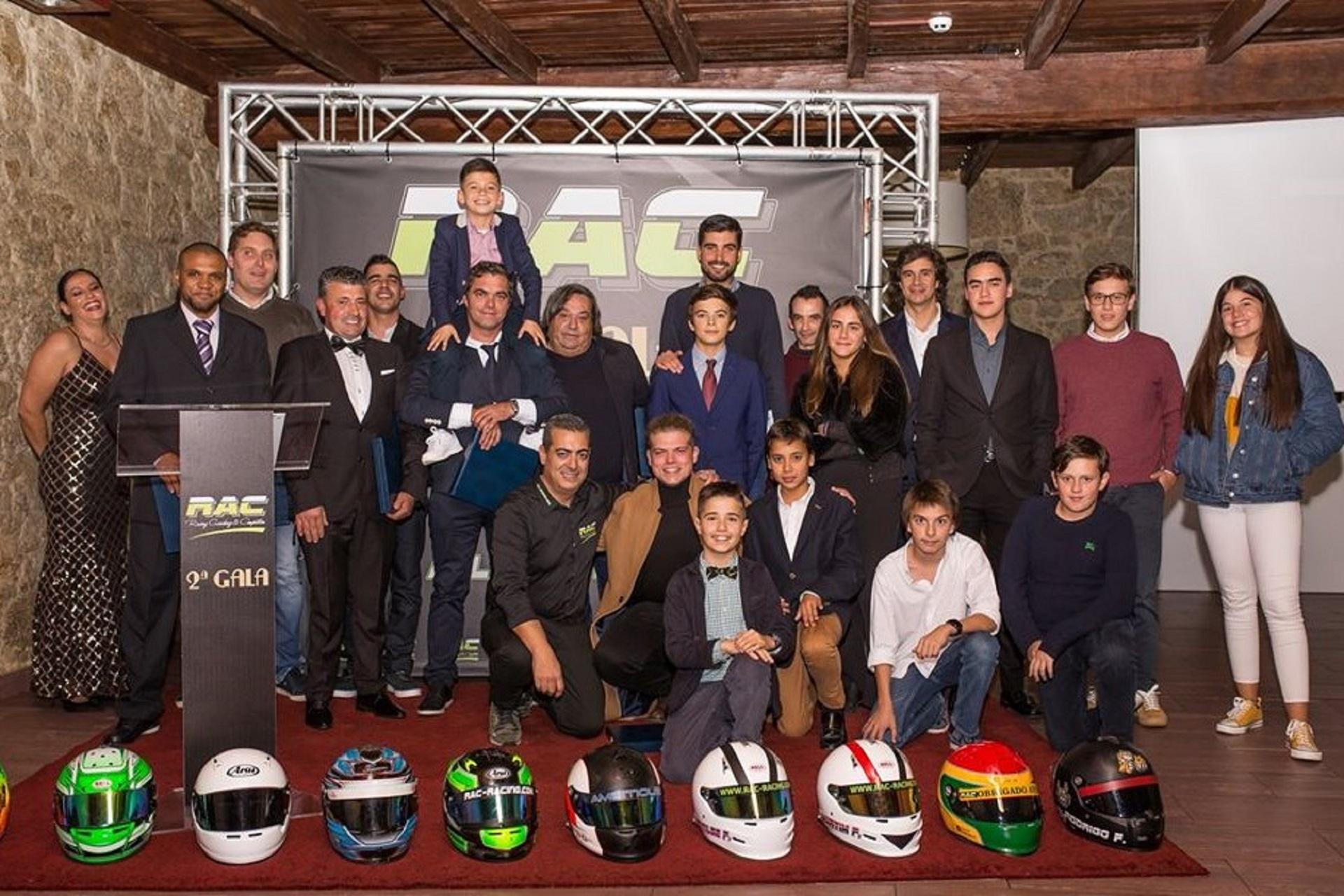 RAC distingue os seus pilotos e revela novidades para 2020 em noite de Gala