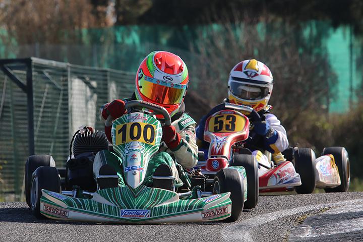 Rodrigo Leitão venceu segunda prova da categoria Mini ROK Cup Portugal