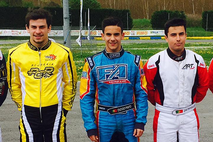 Luciano Carvalho, Diogo Pinto e João Ferreira sem sorte na categoria X30 Sénior
