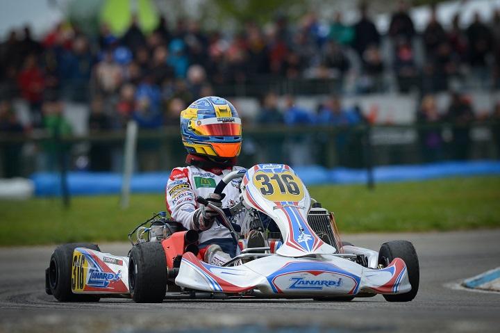 Yohan Sousa já está em Adria para a 2ª prova do Campeonato Europeu KZ2
