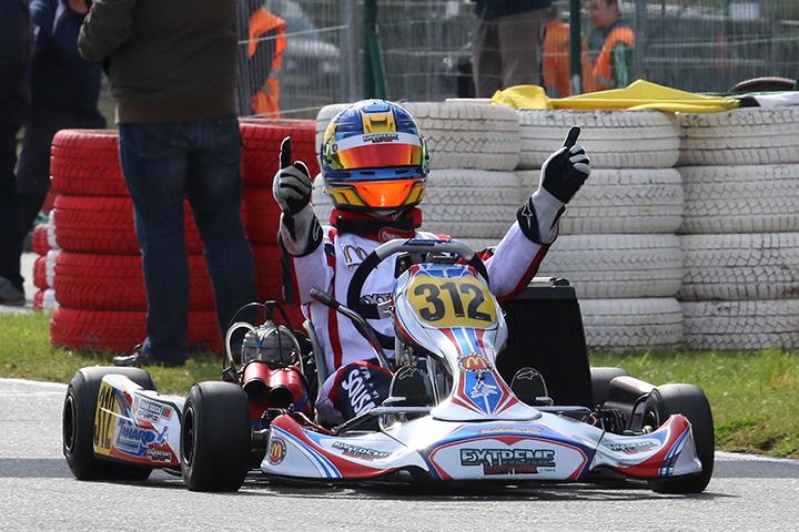 Yohan Sousa imparável no Campeonato Nacional da categoria X30 Shifter