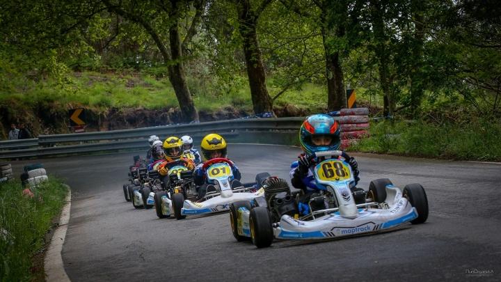 Pilotos MKF-Maptrack Kartódromo de Fafe também subiram a Rampa da Penha de Kart