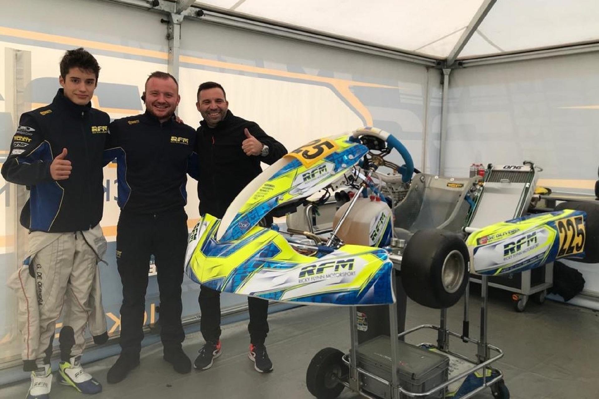 Guilherme de Oliveira vai disputar a Final Cup das World Series Karting em Itália