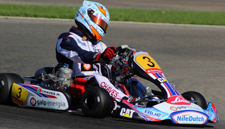 Henrique Chaves triunfa na categoria Sénior-KZ2 do Campeonato de Espanha
