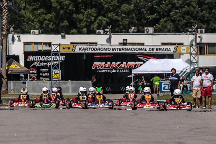 Circuito de Braga 'aquece' Campeonato de Portugal de Karting KIA
