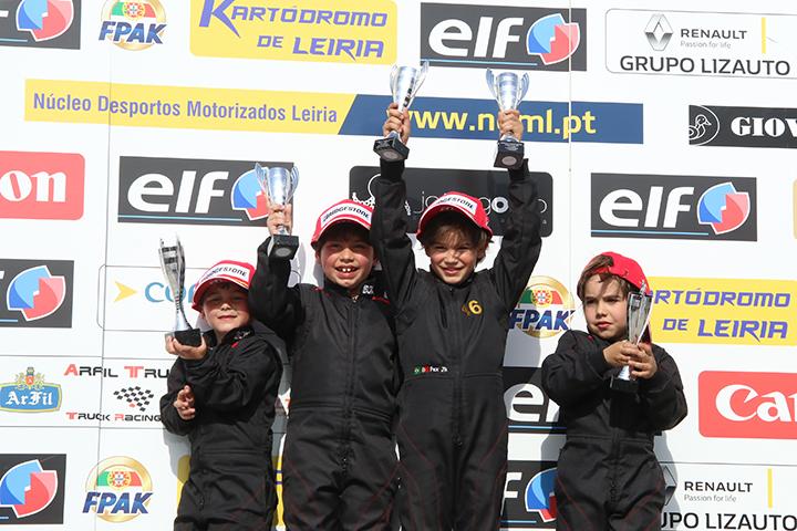 Pedro Moura volta a vencer no Campeonato Nacional da categoria Iniciação
