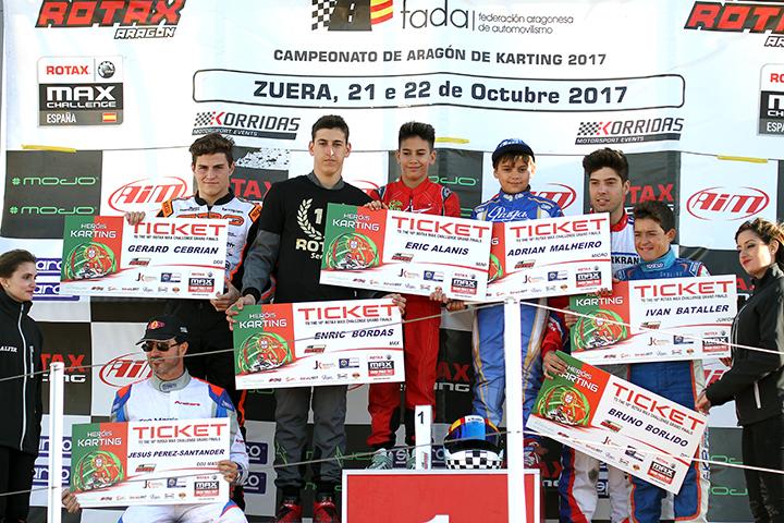 Malheiro e Borlido garantem em Espanha qualificação para o Mundial Rotax