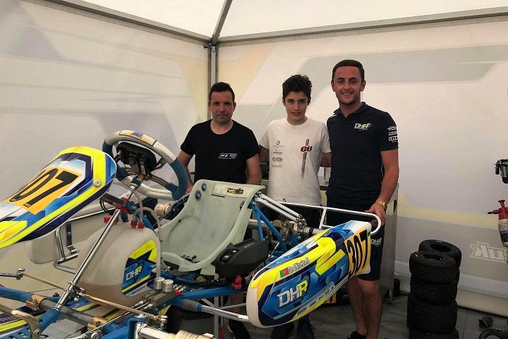 Guilherme de Oliveira estreia-se no Europeu Rotax com um 4.º lugar numa manga