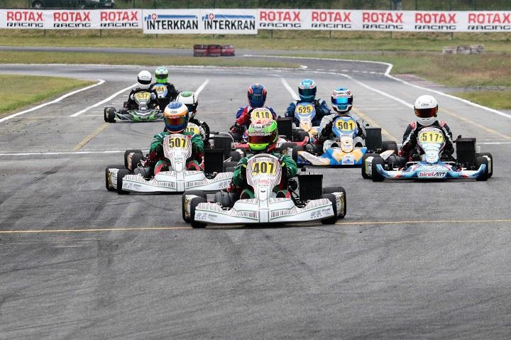 Os vencedores da 2.ª prova do Rotax Max Challenge Portugal em Viana do Castelo