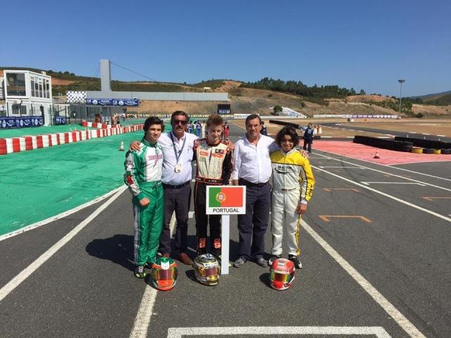Lusos em bom plano no Europeu OK e no Troféu Academia CIK-FIA em Portimão