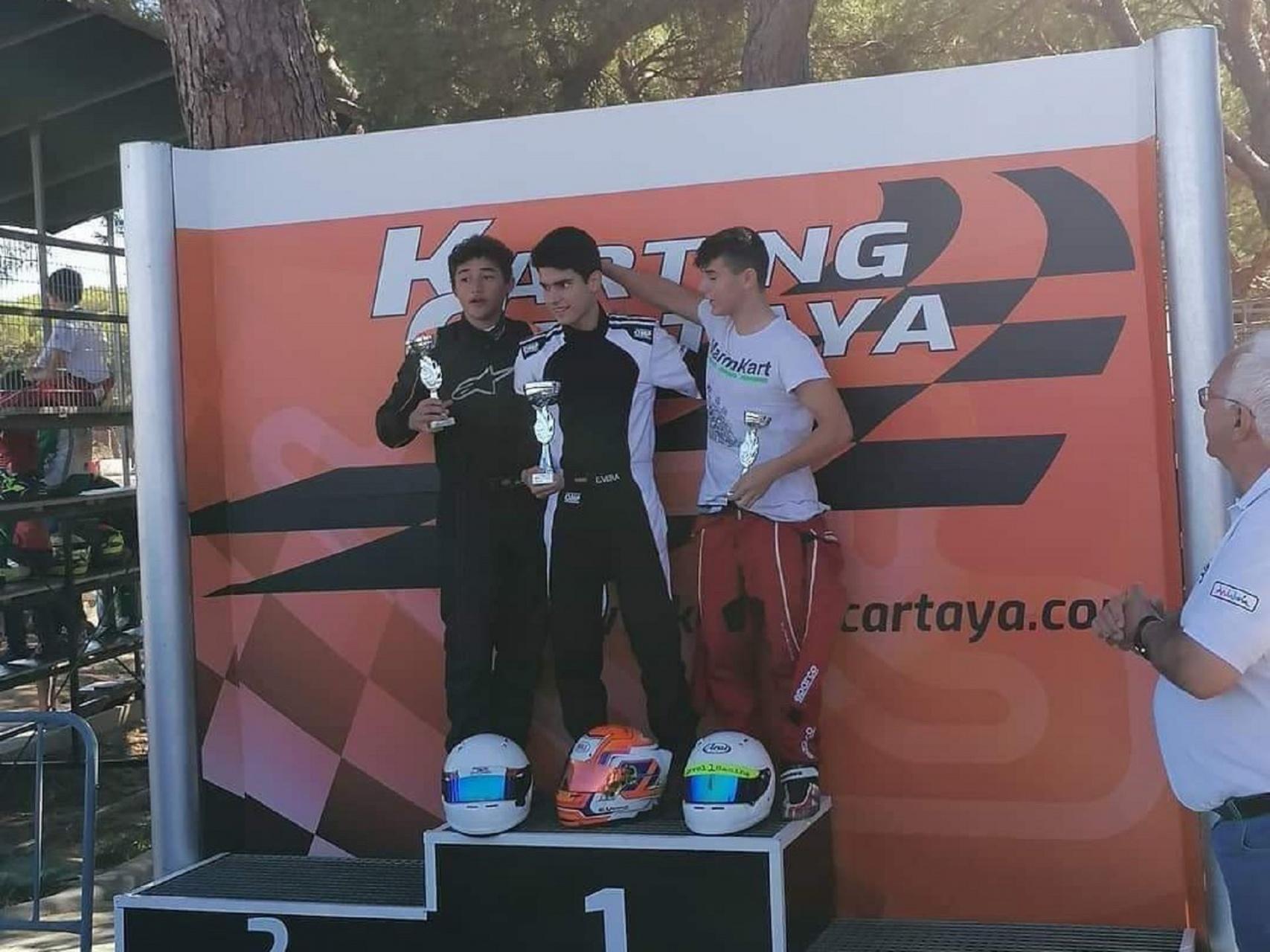 Noah da Silva na luta pelo título do Campeonato da Andaluzia na X30 Sénior