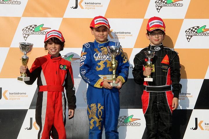 Adrian Malheiro inicia bem defesa do título de campeão nacional Cadete