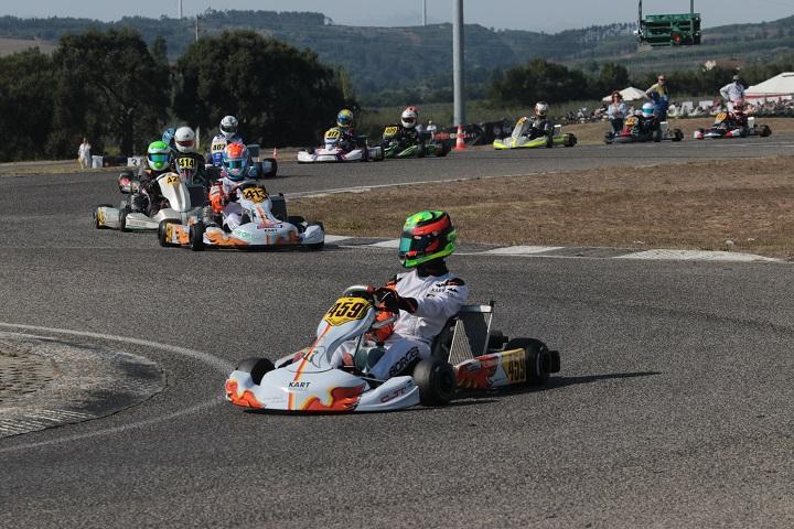 Os vencedores da 4.º prova do Campeonato de Portugal de Karting KIA