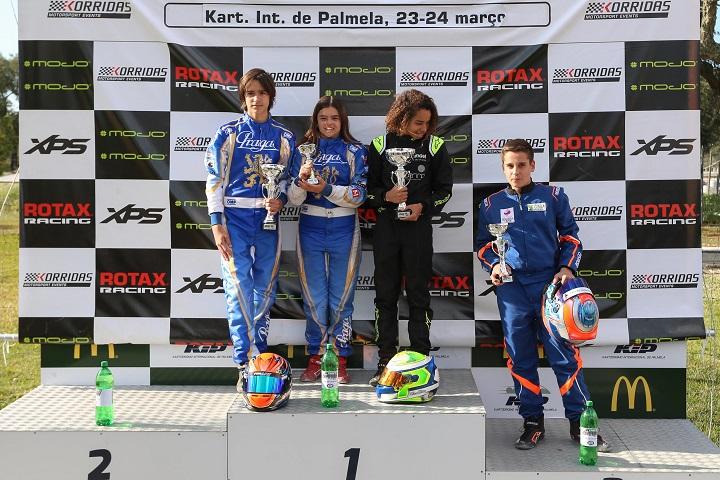 Primeira vitória de Pedro Perino no Troféu Rotax da categoria Júnior em Palmela