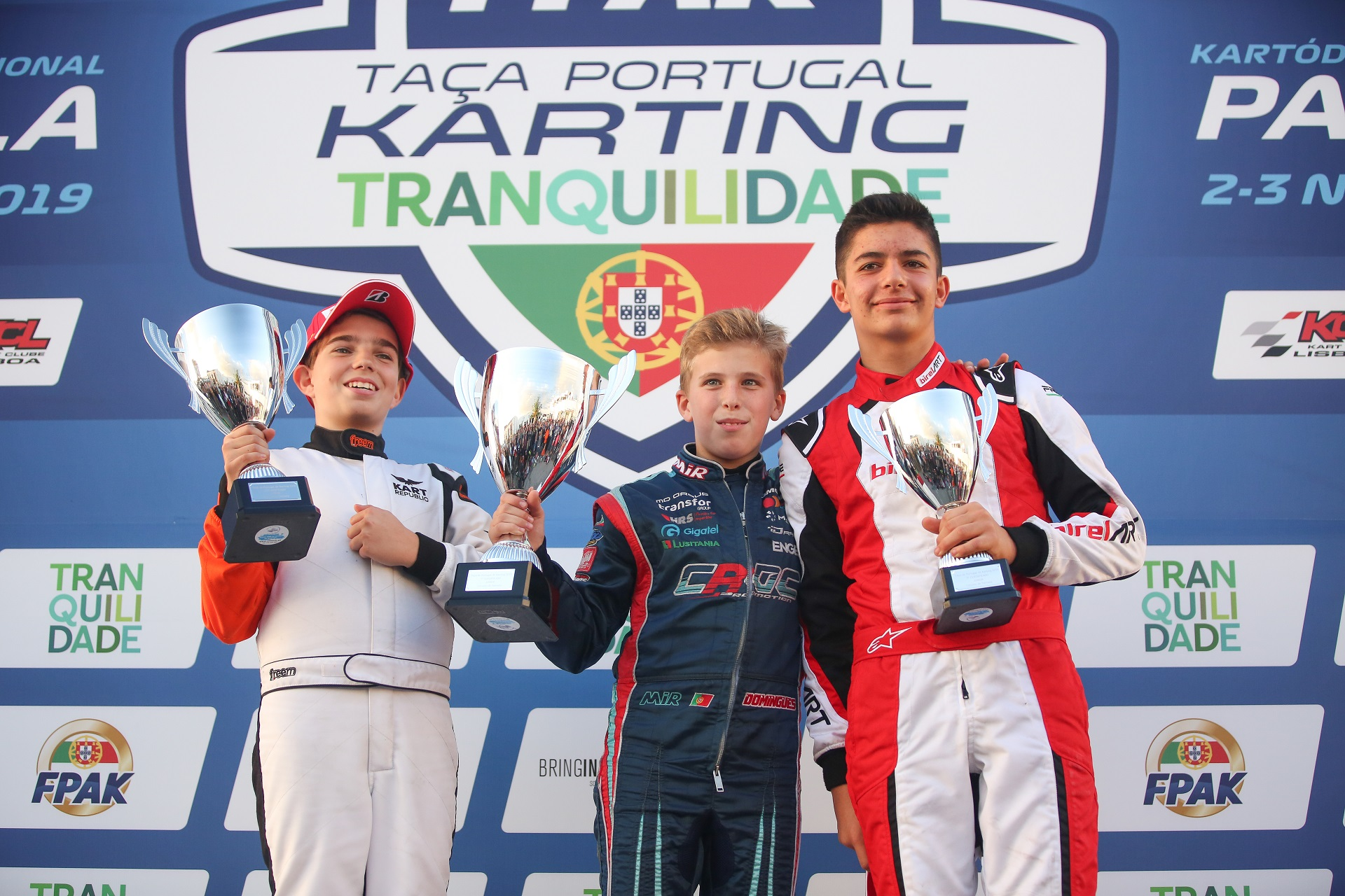 Ivan Domingues coleciona segunda Taça de Portugal de Karting na categoria Júnior