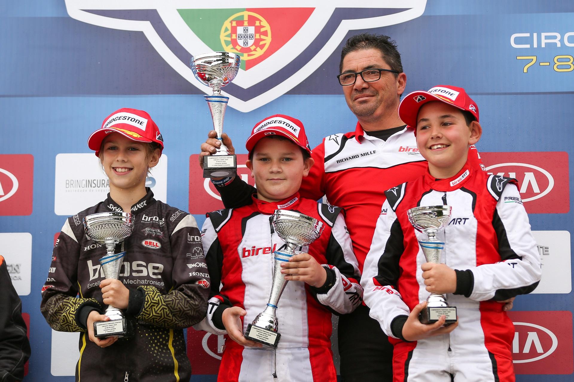 Pedro Cachada vence primeira prova do Campeonato de Portugal de Karting Juvenil