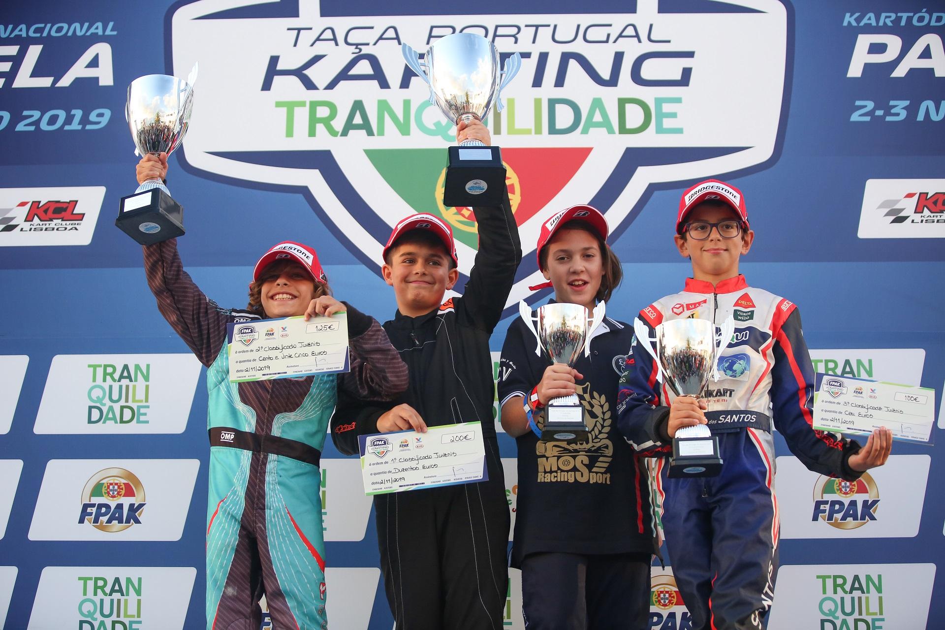 Miguel Couteiro impõe-se na Taça de Portugal de Karting da categoria Juvenil
