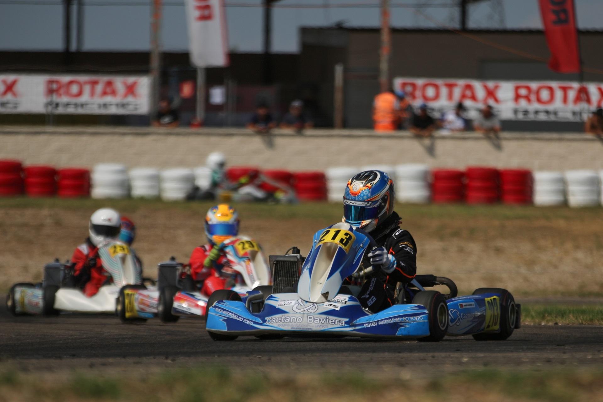 Barros é 7.º, Perino 9.º e Martins 11º na Copa Rotax Júnior
