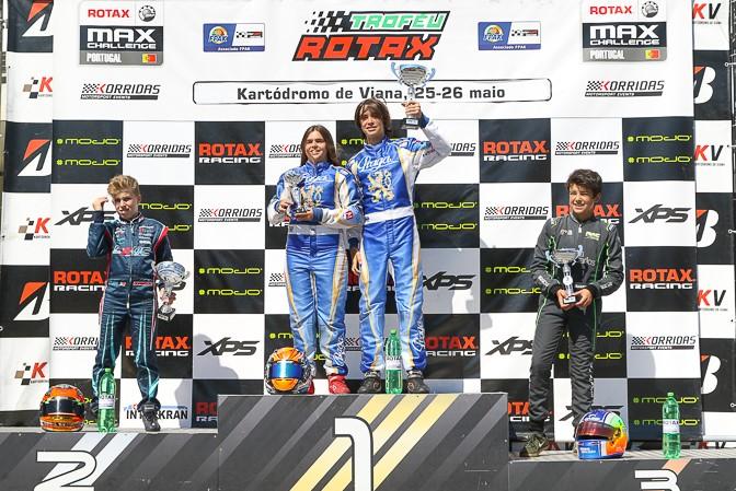 Miguel Silva triunfa no segundo dia do Troféu Rotax Júnior em Viana do Castelo