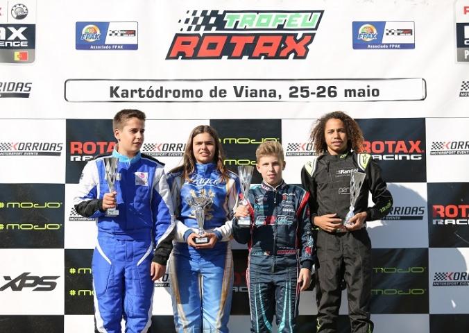 Ivan Domingues com estreia perfeita em competições Rotax em Viana do Castelo