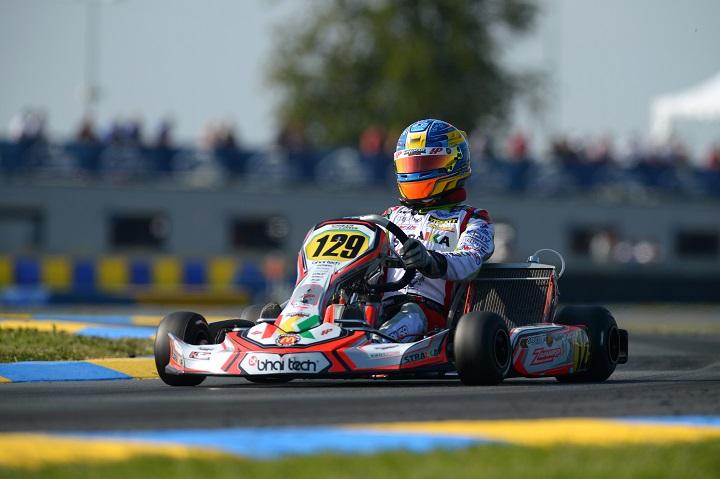 Yohan Sousa recupera da 29ª até à 14ª posição e está na Final do Mundial de KZ2