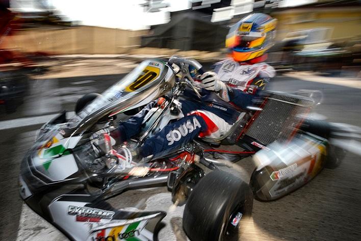 Yohan Sousa 'falha' Final do Europeu KZ2… vitória para o dinamarquês Fasberg