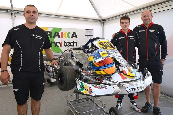 Yohan Sousa foi o 7º mais rápido no 'warm-up' do Mundial KZ2 entre os 68 pilotos