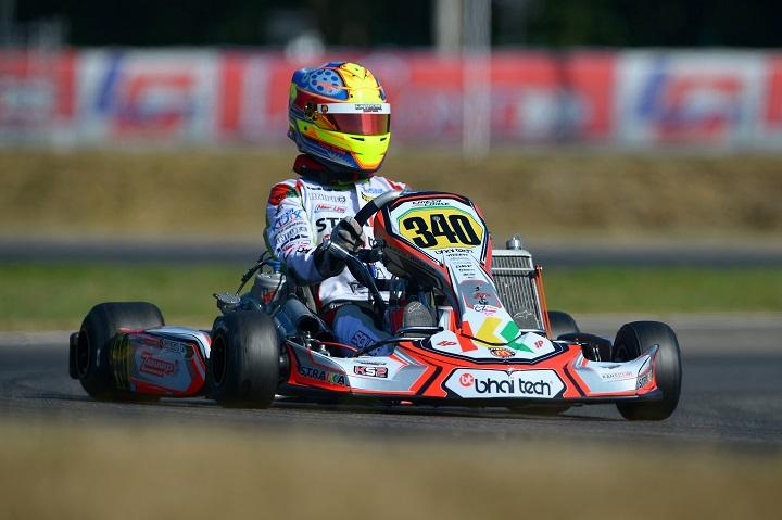 Yohan Sousa vai largar da 7ª linha nas mangas do Mundial KZ2 entre 100 pilotos