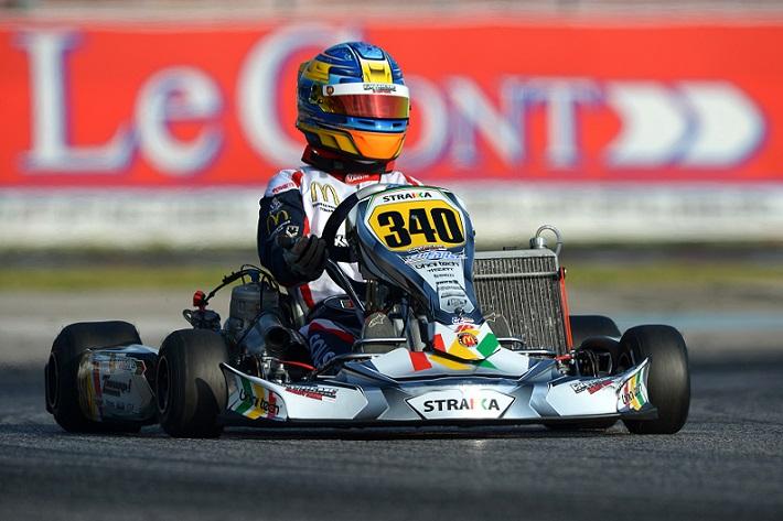 Yohan Sousa vai largar da 7ª linha nas mangas de qualificação do Europeu KZ2