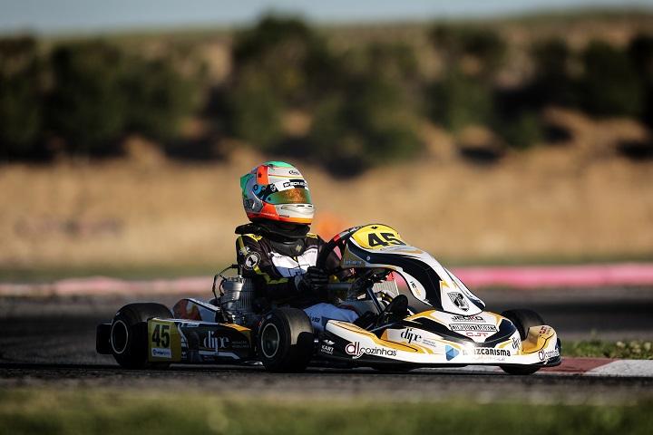 CEK Recas: Luís Alves assegura um lugar no top-20 nas duas corridas da Júnior