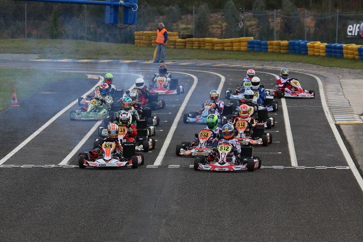 Os primeiros vencedores do CNK 2016 que está a decorrer no Kartódromo de Leiria