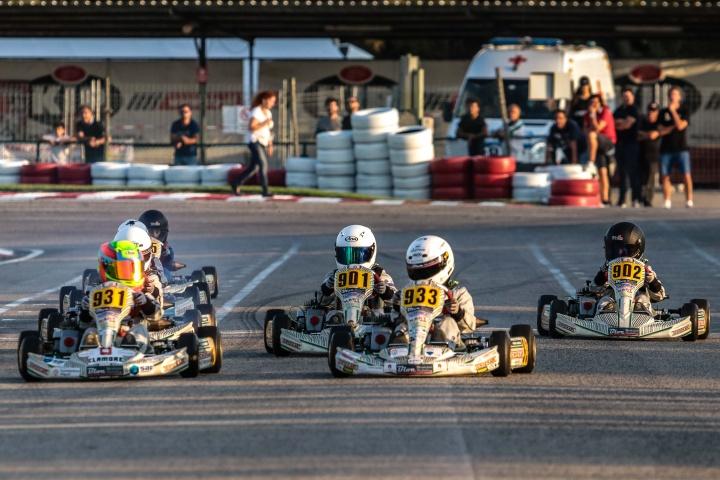 Tomás Gomes e David Dias vencem no Troféu Kart Kid Race School em Palmela
