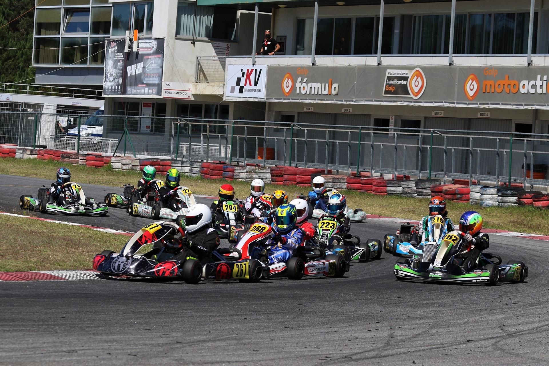 Guillermo Pernía bisa em Viana e assume comando do Troféu Rotax Júnior