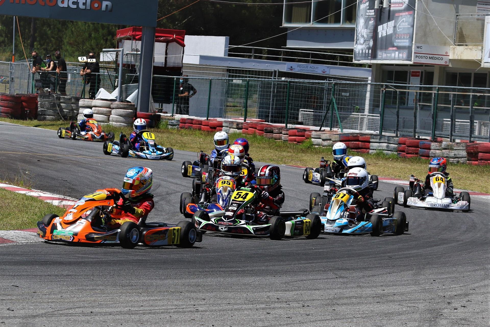 Christian Costoya domina Troféu Rotax da categoria Micro-Max em Viana do Castelo
