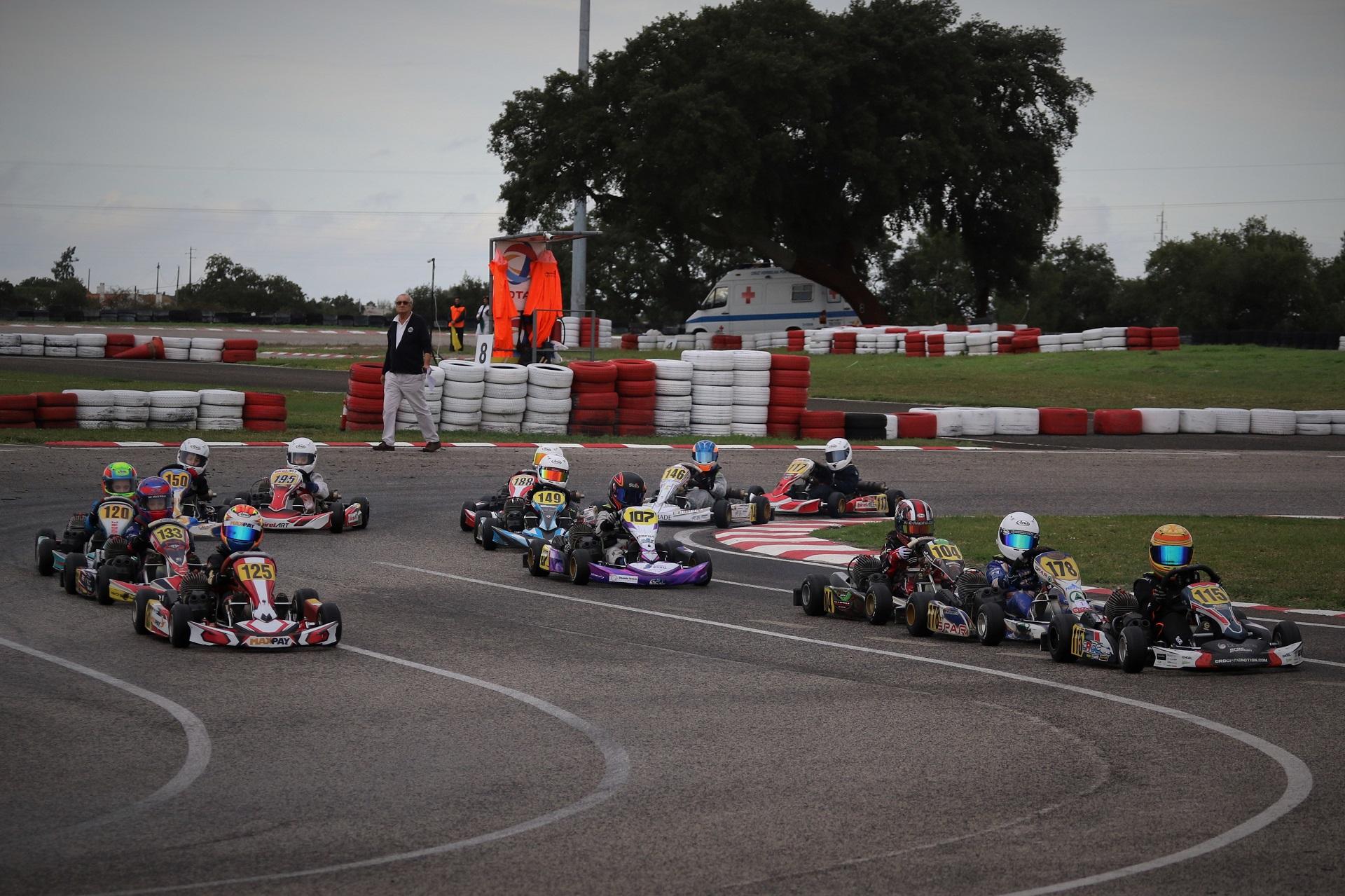 Tiago Lima está a dominar a Taça de Portugal de Karting na categoria Cadete