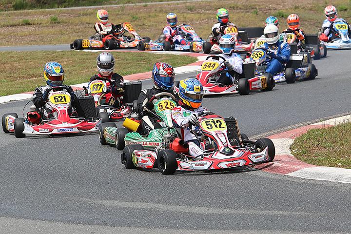 Campeonato Nacional de Karting prossegue este fim de semana no Bombarral
