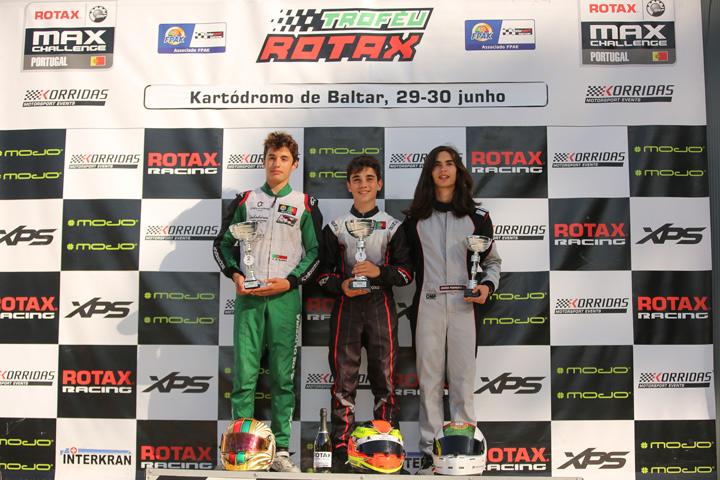 Gabriel Caçoilo alcança primeira vitória no Troféu Rotax Sénior em Baltar
